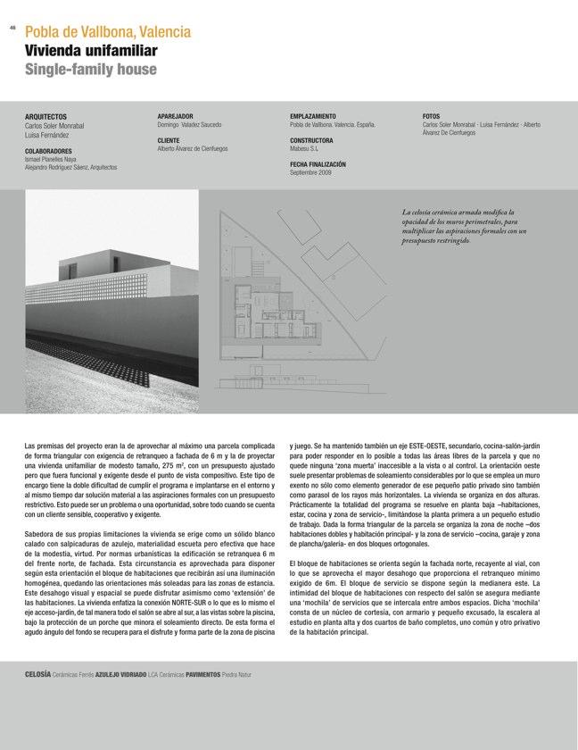 CA 51 I CONarquitectura 51. ARQUITECTURA RESIDENCIAL Y REHABILITACIÓN - Preview 13