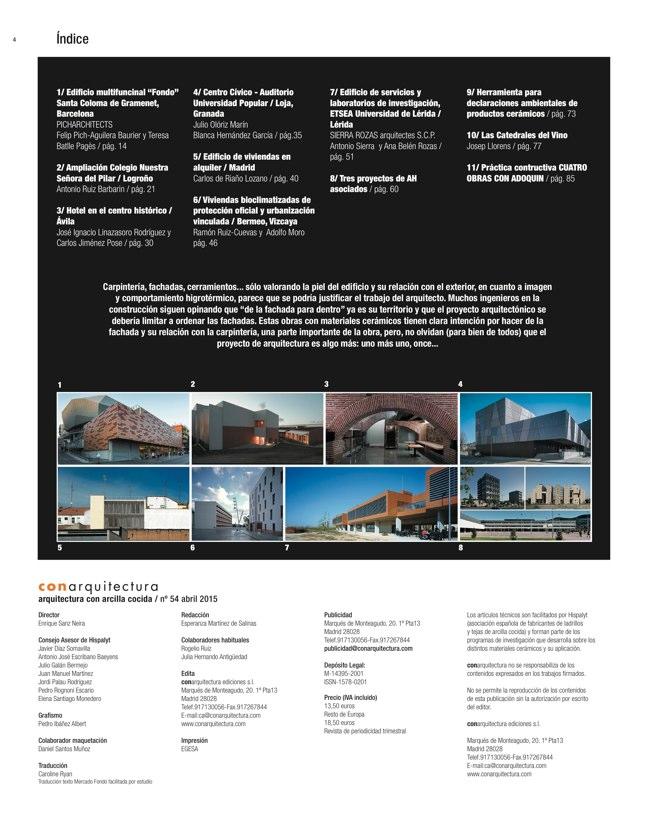 CA54 conarquitectura ECO ARQUITECTURA CARPINTERÍA Y FACHADAS - Preview 1
