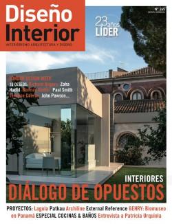 Diseño Interior 265 INTERIORES · DIÁLOGO DE OPUESTOS