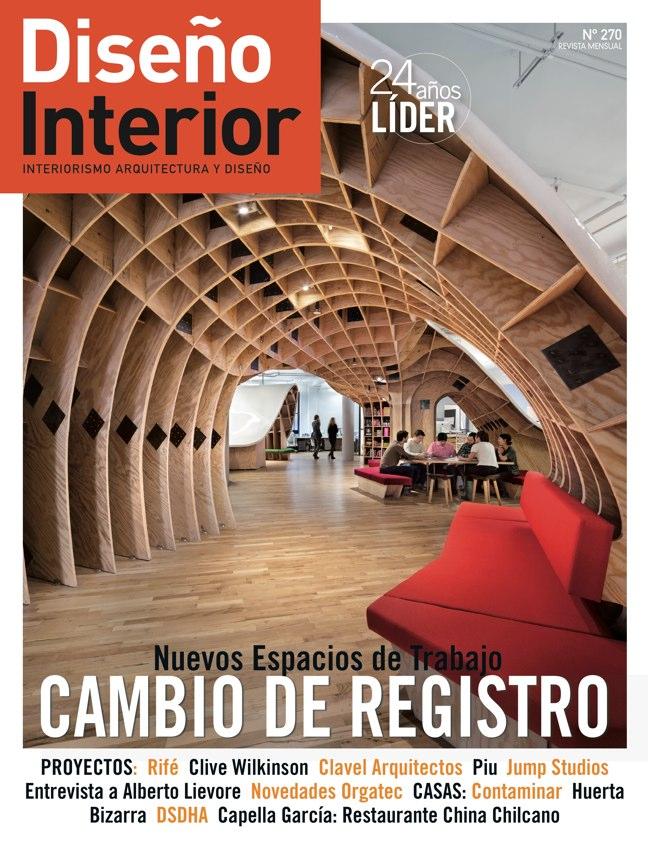 Diseño Interior 270 Nuevos espacios de Trabajo