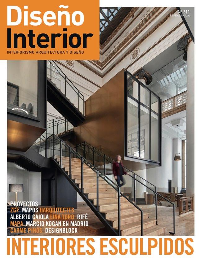 Diseño Interior 311 INTERIORES ESCULPIDOS