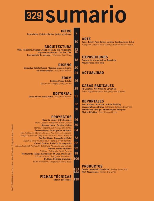 Diseño Interior 329 PROPUESTAS DE FUTURO - Preview 1