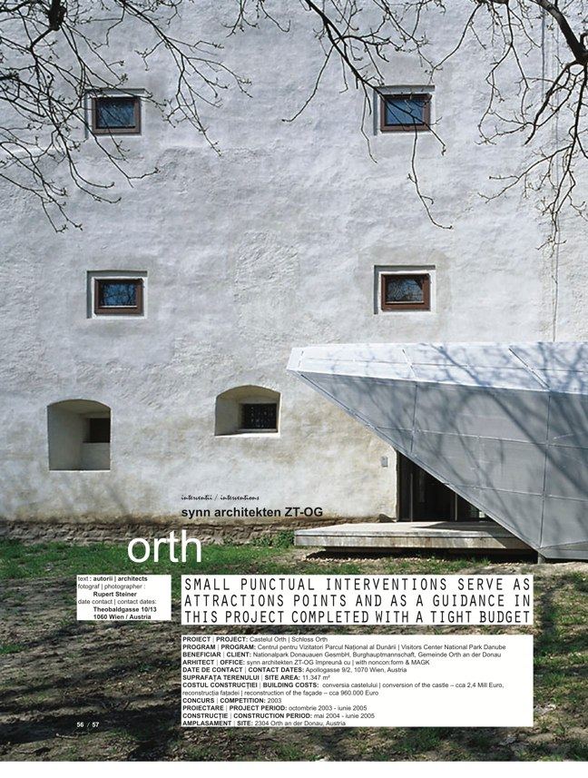 de arhitectura 33 INTERVENTIONS - Preview 13