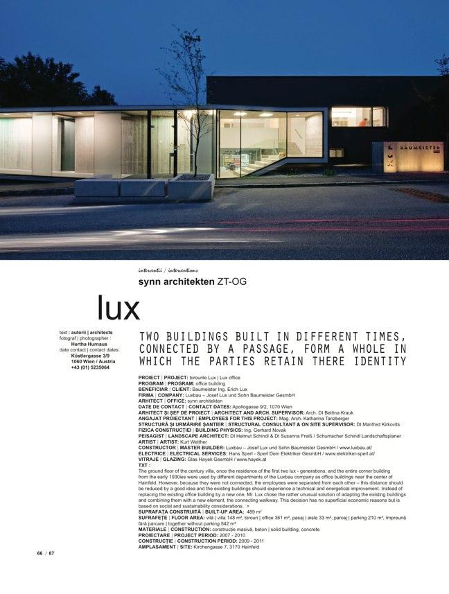 de arhitectura 33 INTERVENTIONS - Preview 16
