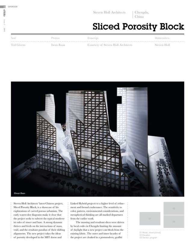 eVolo architecture magazine 01 Housing for the 21st Century - Preview 10