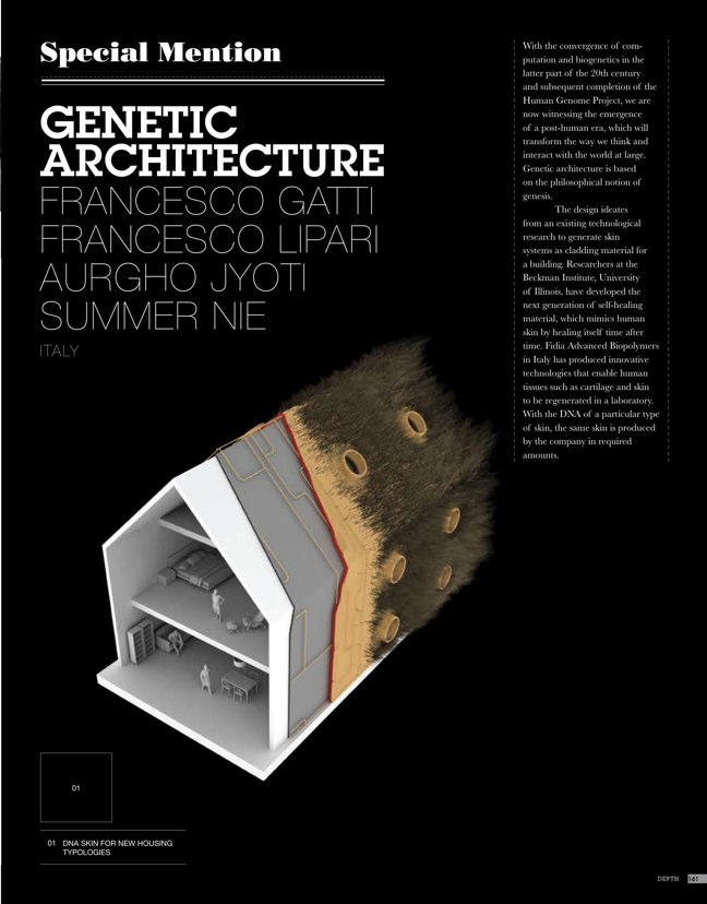 eVolo architecture magazine 01 Housing for the 21st Century - Preview 15