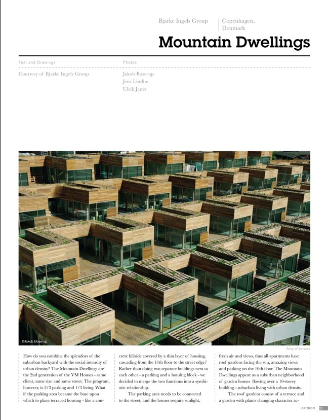 eVolo architecture magazine 01 Housing for the 21st Century - Preview 4