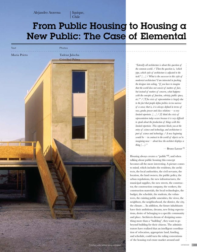 eVolo architecture magazine 01 Housing for the 21st Century - Preview 8