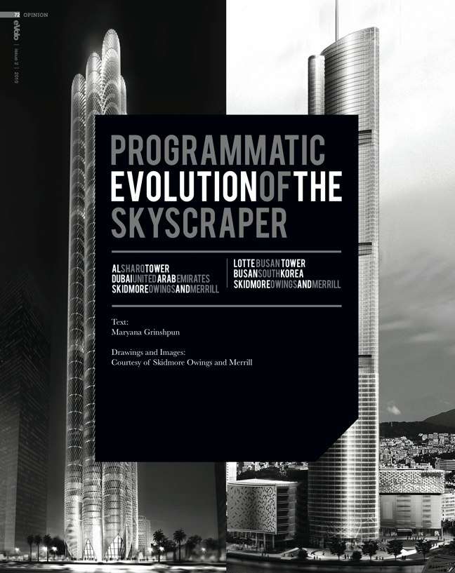 eVolo architecture magazine 02 Skyscrapers of the Future - Preview 10