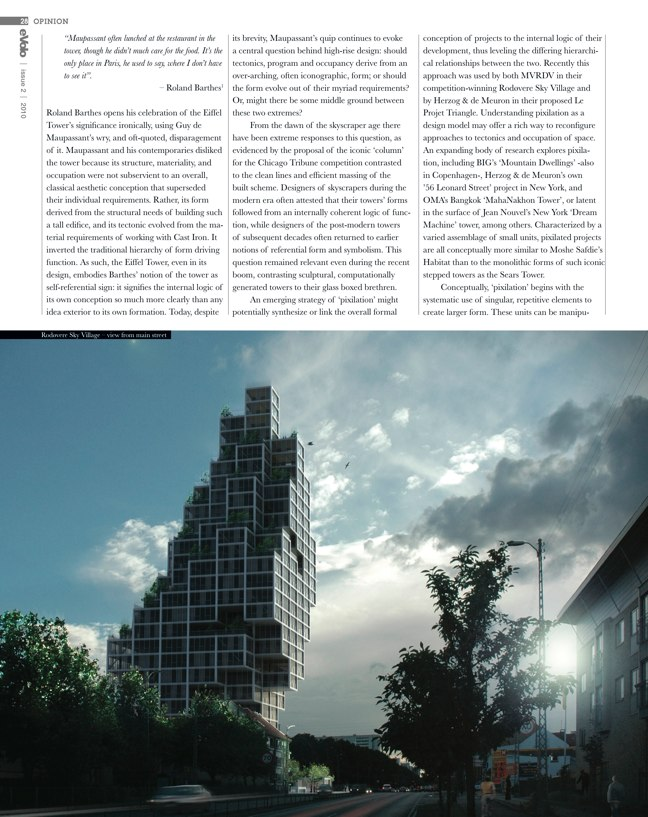 eVolo architecture magazine 02 Skyscrapers of the Future - Preview 5
