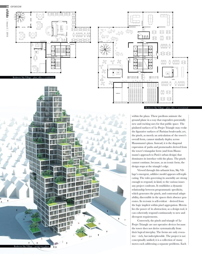 eVolo architecture magazine 02 Skyscrapers of the Future - Preview 6