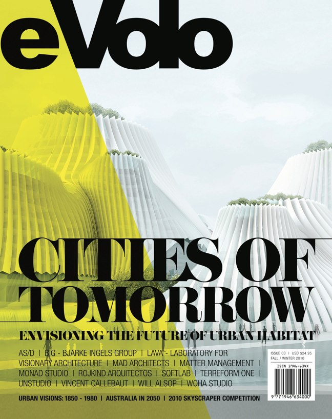 eVolo 03 architecture magazine · Cities of Tomorrow