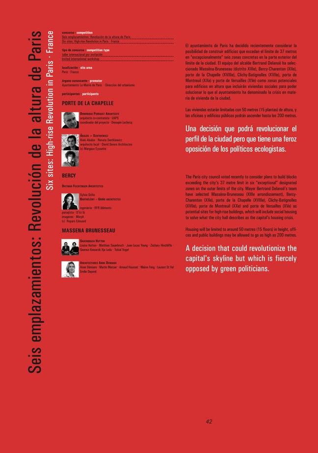 FUTURE ARQUITECTURAS #16/17 CONCURSOS COMPETITIONS - Preview 7