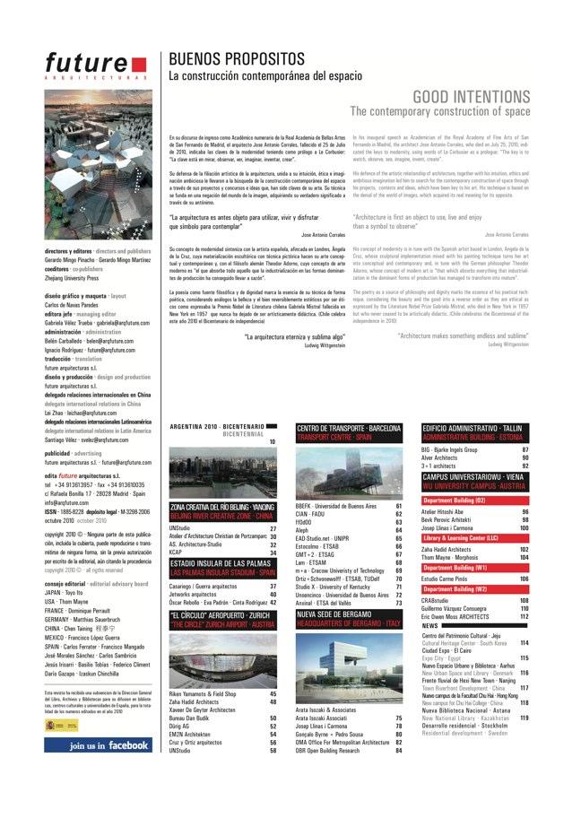 FUTURE ARQUITECTURAS #25 Argentina Bicentenario - Preview 1