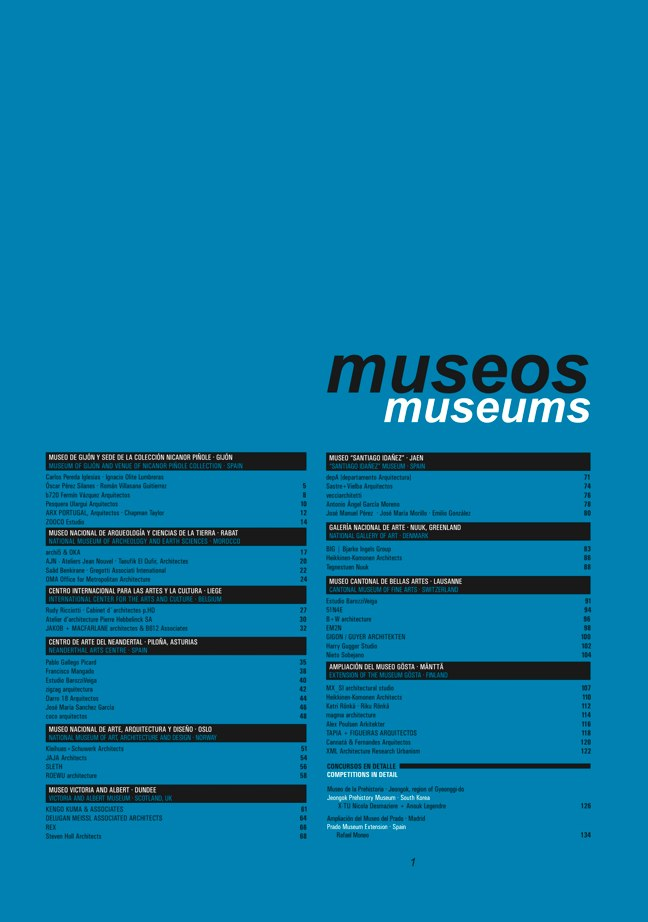 FUTURE ARQUITECTURAS #30/31 CONCURSOS COMPETITIONS I MUSEOS MUSEUMS - Preview 2