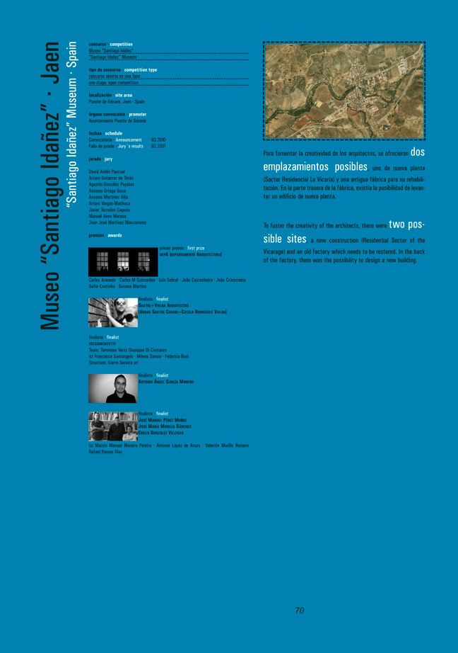 FUTURE ARQUITECTURAS #30/31 CONCURSOS COMPETITIONS I MUSEOS MUSEUMS - Preview 30