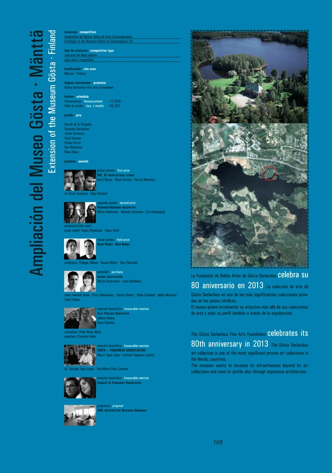 FUTURE ARQUITECTURAS #30/31 CONCURSOS COMPETITIONS I MUSEOS MUSEUMS - Preview 38