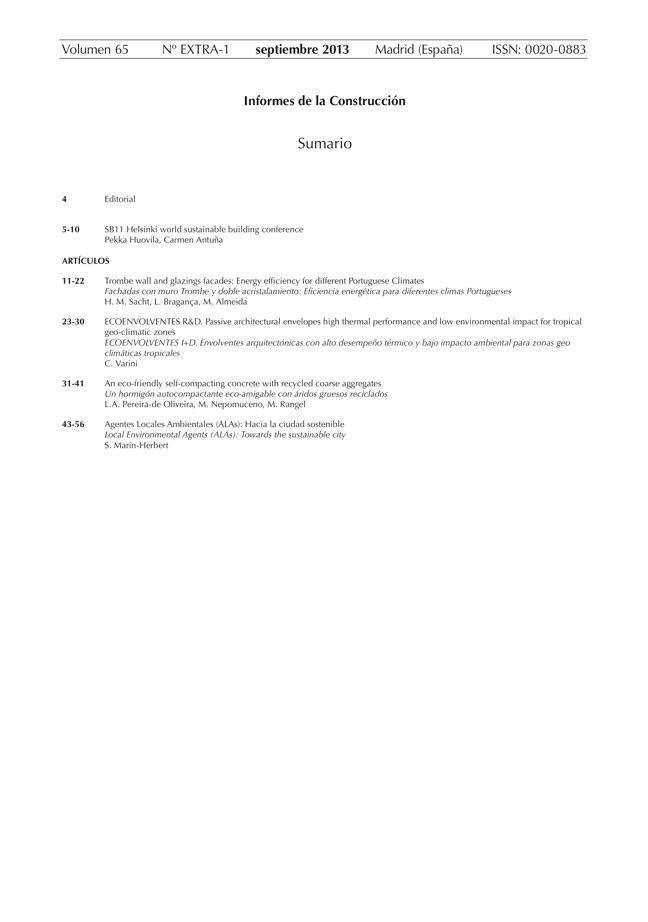 Informes de la construcción EXTRA 1 / 2013 I CSIC - Preview 2