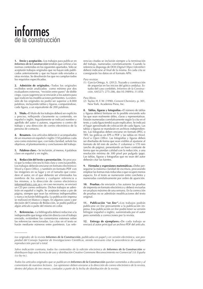 Informes de la construcción EXTRA 1 / 2013 I CSIC - Preview 8