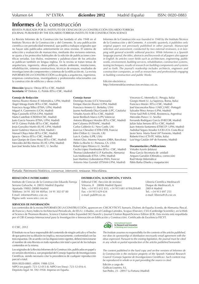 Informes. Especial 2012 - Preview 2