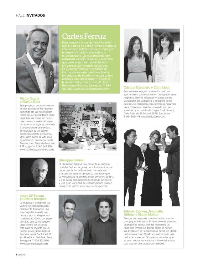 CASAVIVA #199 Diciembre 2013 ELEGANCIA y equilibrio formal - Preview 2