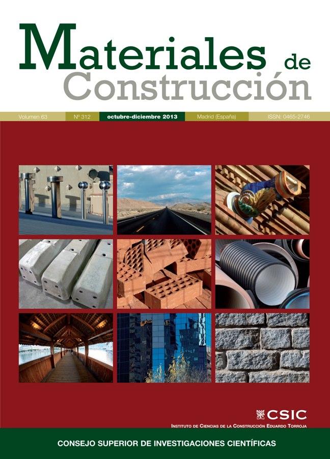 Materiales de construcci n 312 i csic - Materiales de construccion tarragona ...