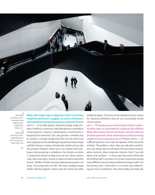 ORIS 100 MAGAZINE FOR ARCHITECTURE AND CULTURE OF LIVING - Preview 11