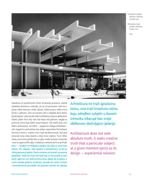 ORIS 100 MAGAZINE FOR ARCHITECTURE AND CULTURE OF LIVING - Preview 2