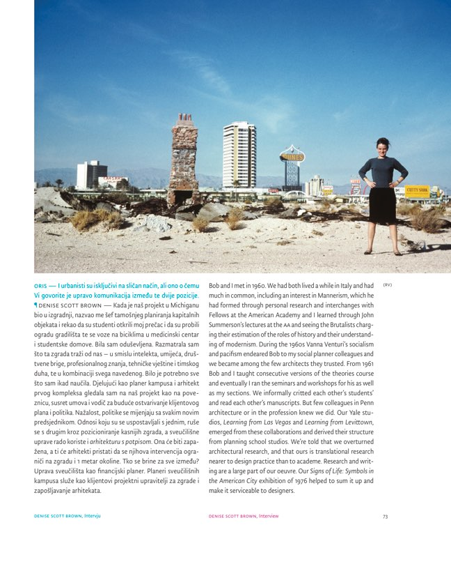 ORIS 100 MAGAZINE FOR ARCHITECTURE AND CULTURE OF LIVING - Preview 4
