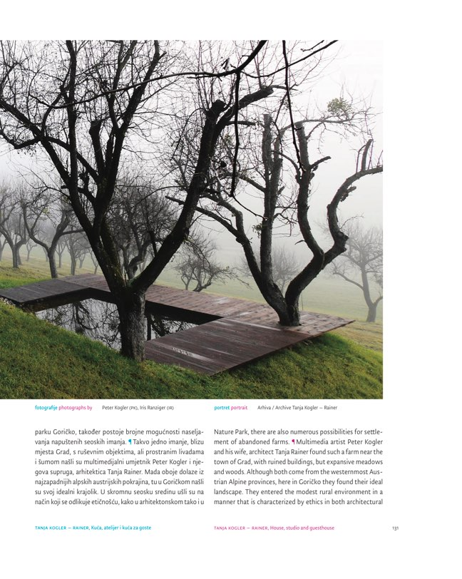 ORIS 102 MAGAZINE FOR ARCHITECTURE AND CULTURE OF LIVING - Preview 10