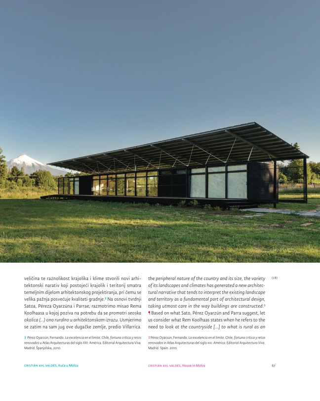 ORIS 105 MAGAZINE FOR ARCHITECTURE AND CULTURE OF LIVING - Preview 8