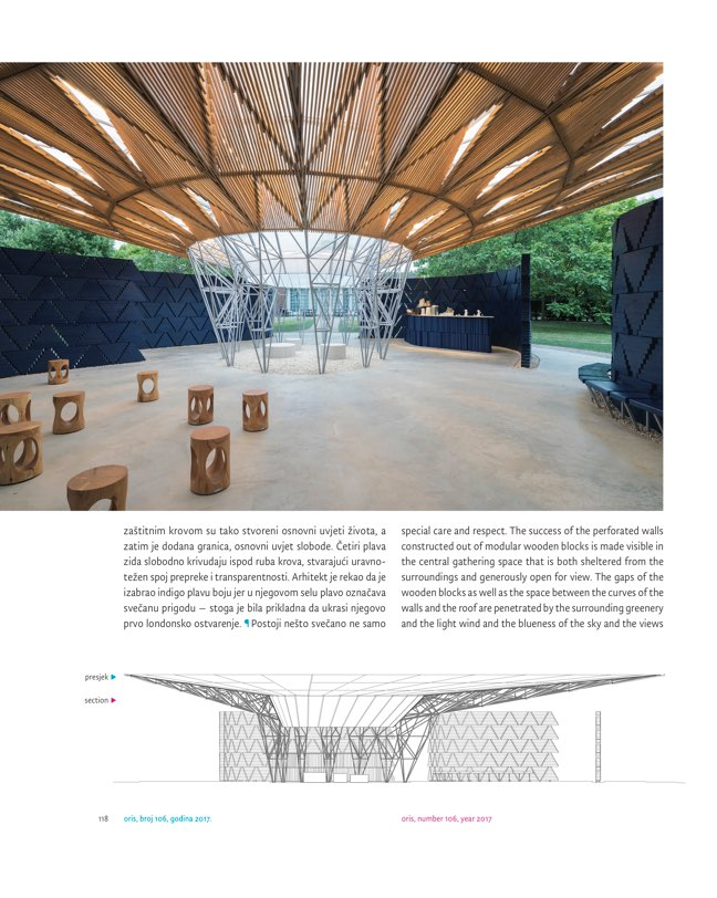 ORIS 106 MAGAZINE FOR ARCHITECTURE AND CULTURE OF LIVING - Preview 11