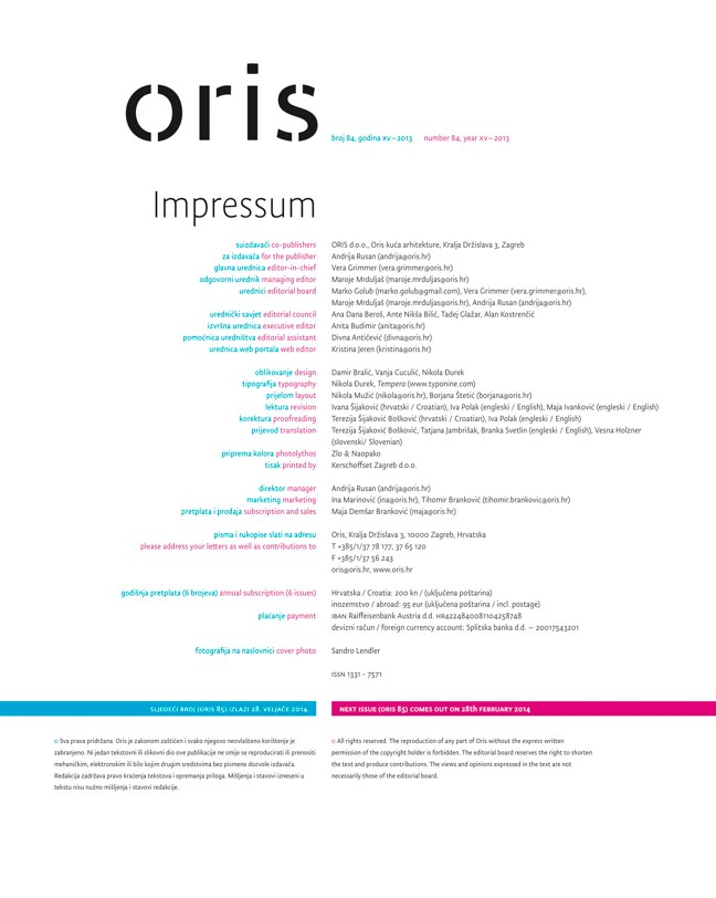 ORIS MAGAZINE 84 - Preview 1