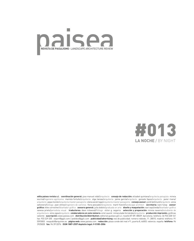 paisea 013 LA NOCHE / BY NIGHT - Preview 1
