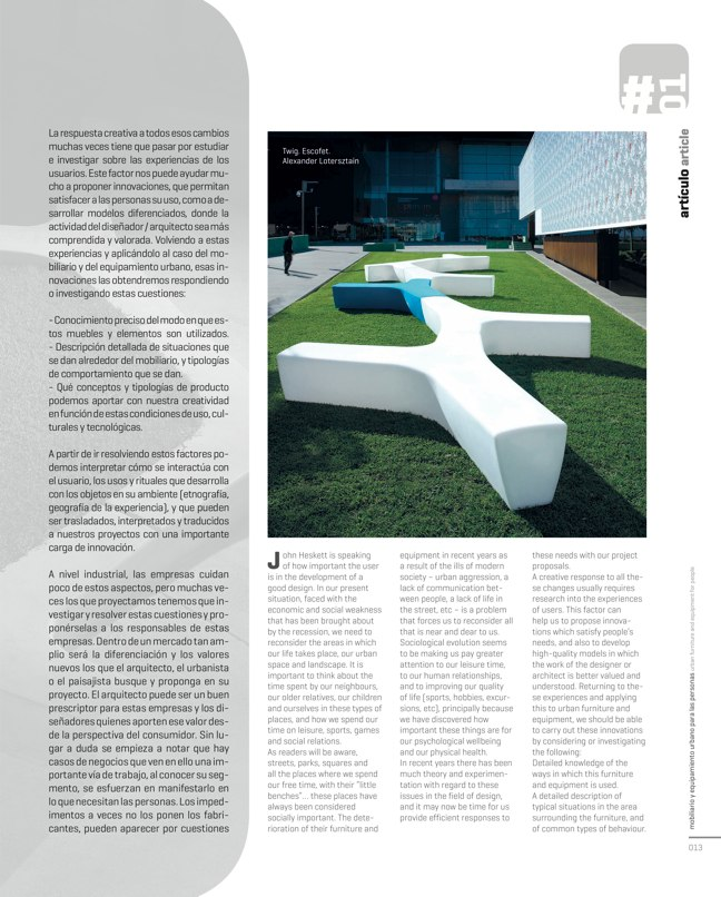 paisea 015 MOBILIARIO URBANO / URBAN FURNITURE - Preview 5