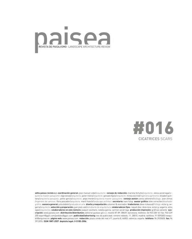 paisea 16 CICATRICES / SCARS - Preview 1