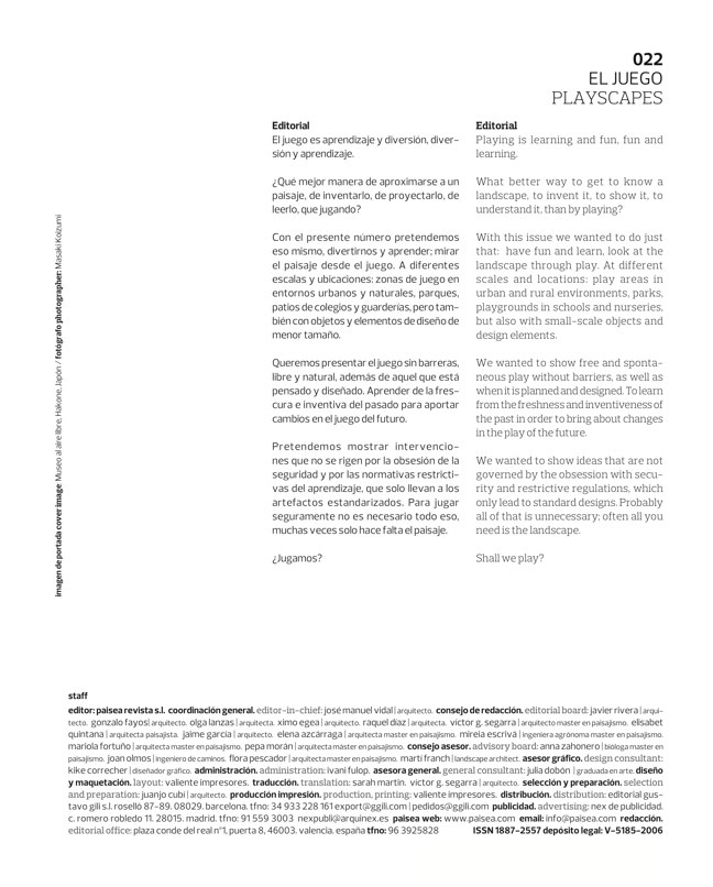 paisea 022 PLAYSCAPES I EL JUEGO - Preview 1