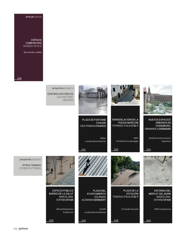 paisea 029 ESPACIO PEATONAL · PEDESTRIAN SCAPES - Preview 2