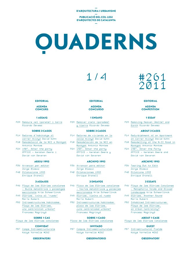 Quaderns 261 - Preview 1