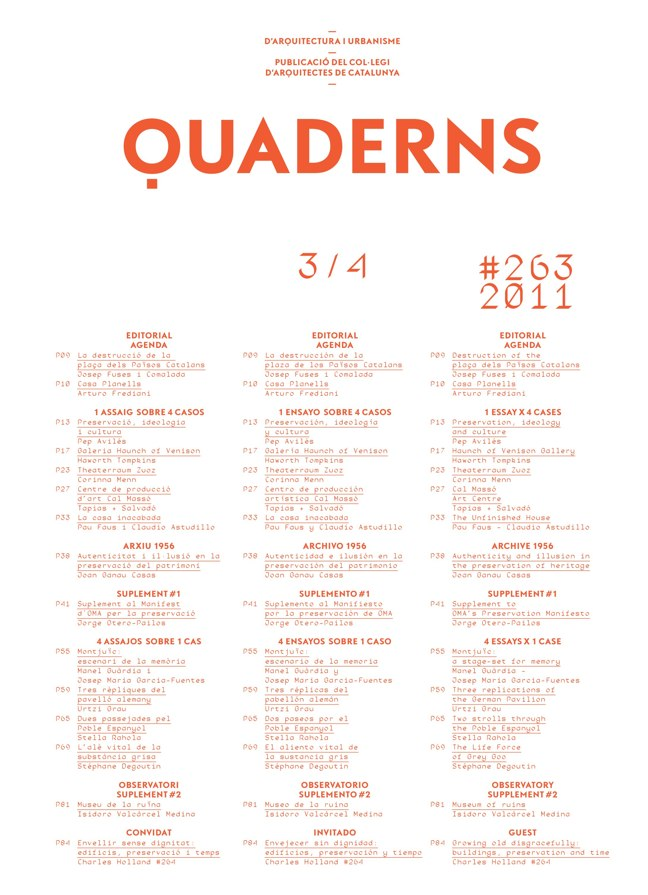 Quaderns 263 - Preview 1