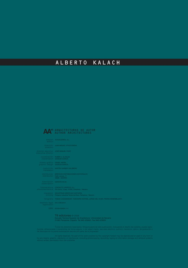 AA 45 ALBERTO KALACH - Preview 1