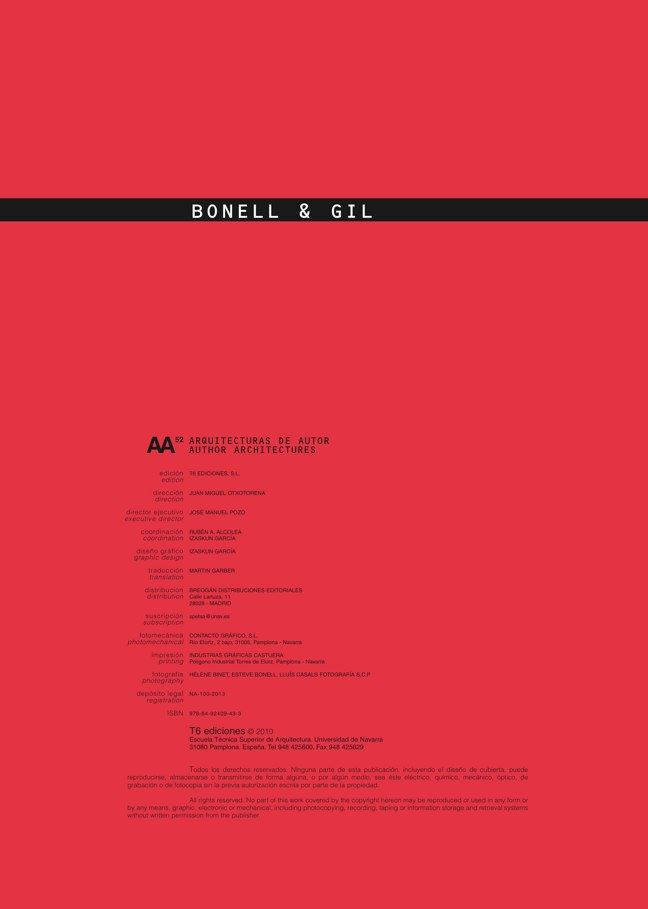 AA52 BONELL & GIL - Preview 1