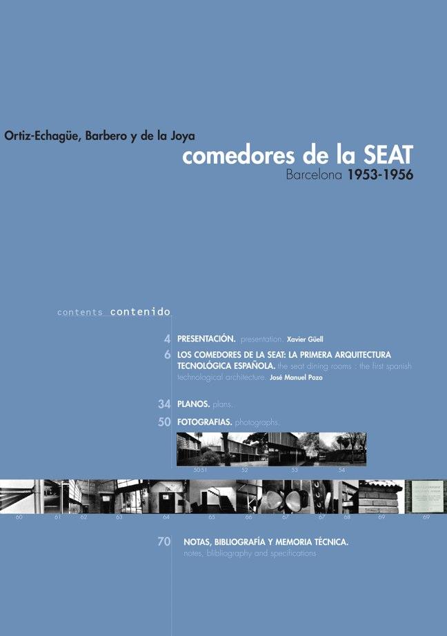 AACC 02 COMEDORES DE LA SEAT. Ortiz-Echagüe, Barbero y de la Joya - Preview 1