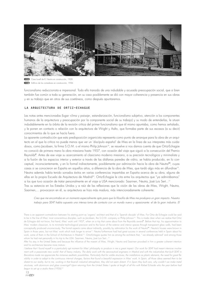 AACC 02 COMEDORES DE LA SEAT. Ortiz-Echagüe, Barbero y de la Joya - Preview 4