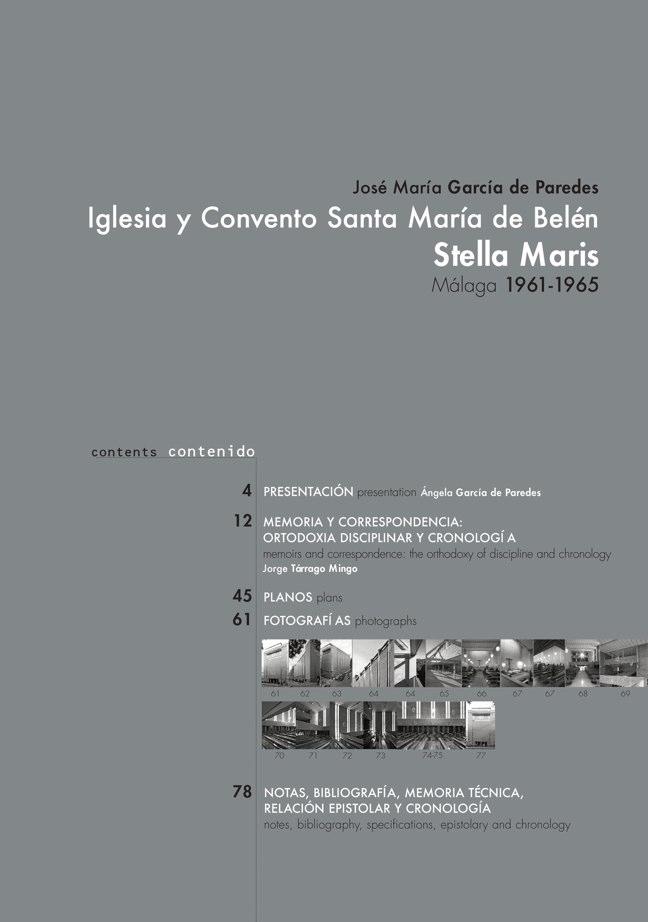 AACC 10 STELLA MARIS. Iglesia y Convento Santa Marí. José María García de Paredes - Preview 1