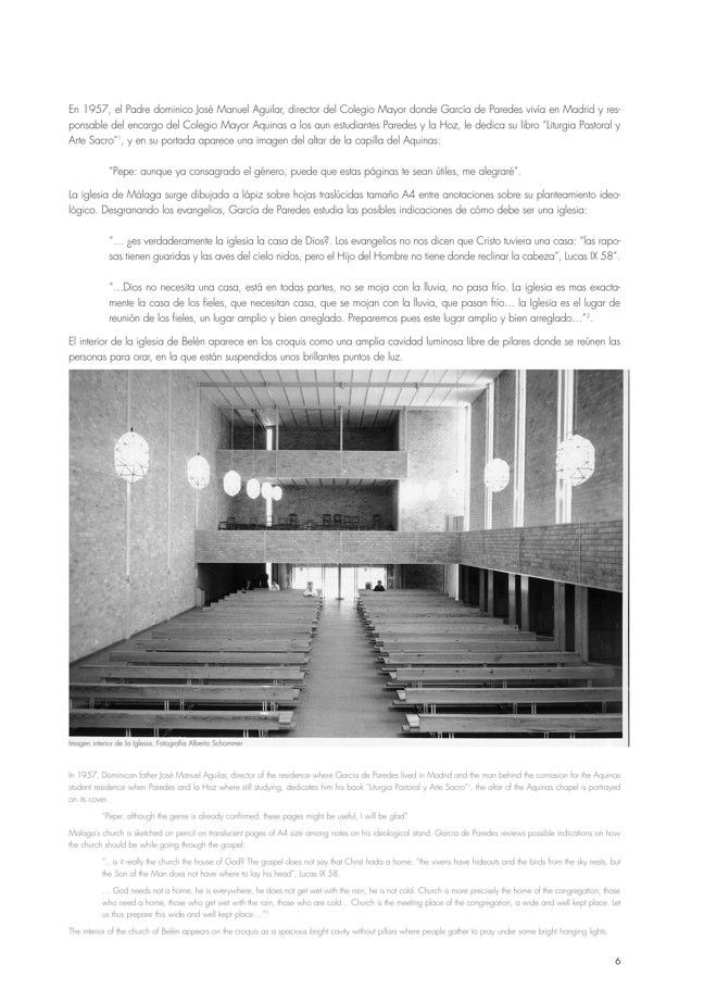 AACC 10 STELLA MARIS. Iglesia y Convento Santa Marí. José María García de Paredes - Preview 3