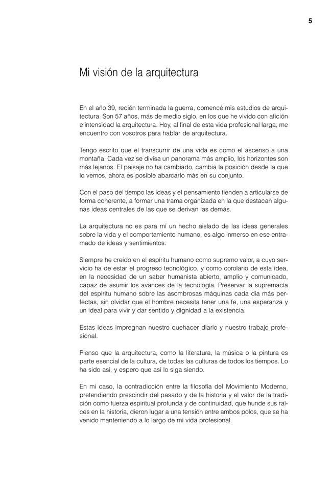 Lecciones 02 JULIO CANO LASSO, mi visión de la arquitectura - Preview 4
