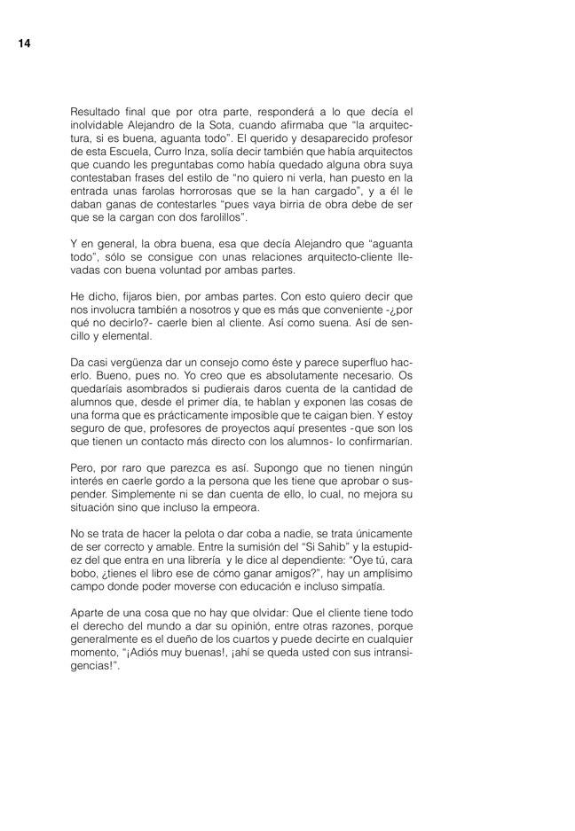 Lecciones 03 FERNANDO REDON, el oficio del arquitecto - Preview 12