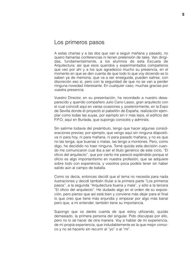 Lecciones 03 FERNANDO REDON, el oficio del arquitecto - Preview 3