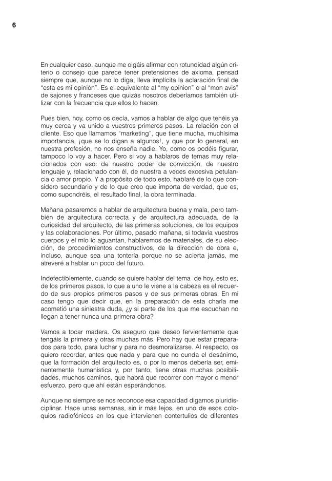 Lecciones 03 FERNANDO REDON, el oficio del arquitecto - Preview 4